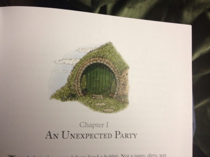 The Green Door of Bag End.