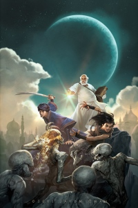 Throne of the Crescent Moon by Saladin Ahmed.